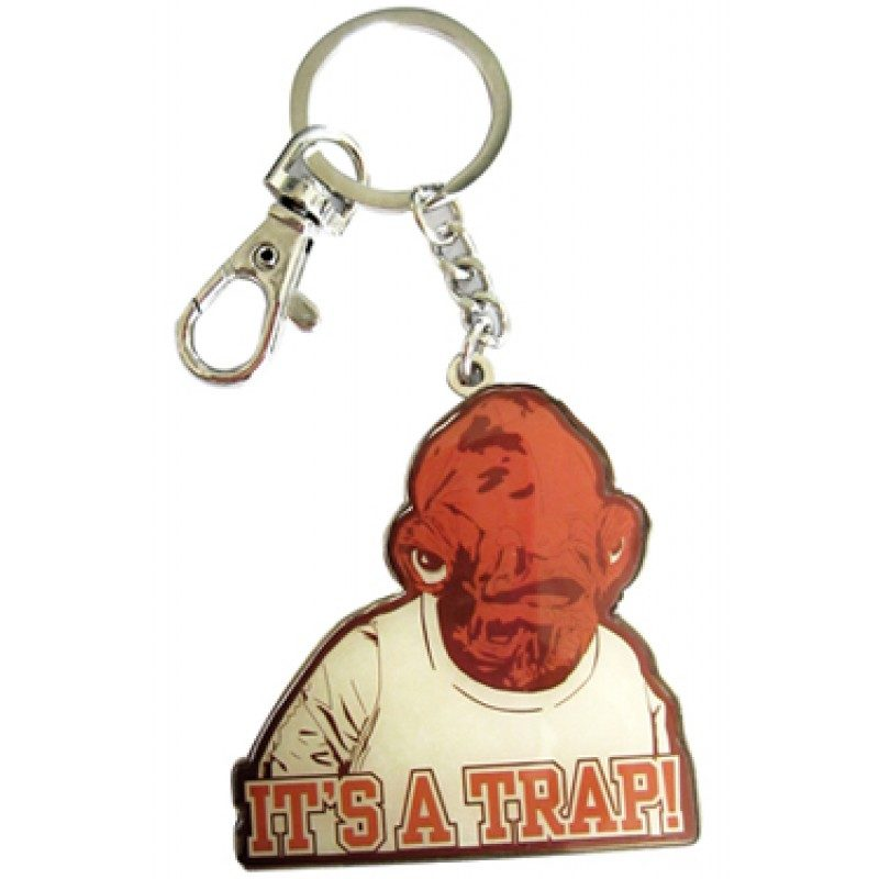 Breloc Star Wars Ackbar It's a Trap
