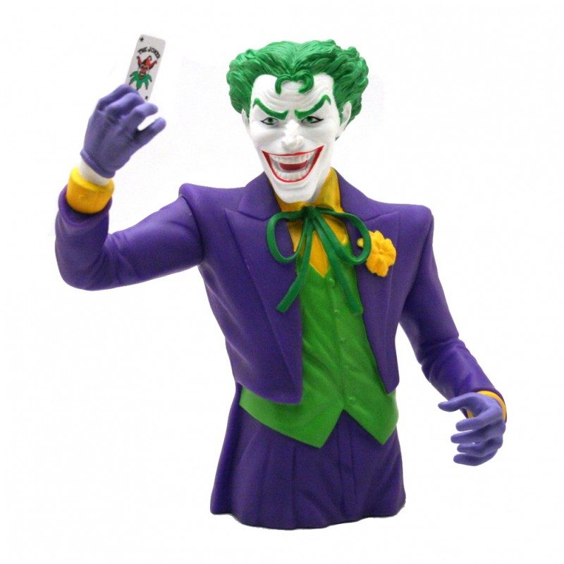 Coin Bank Batman Joker 20cm