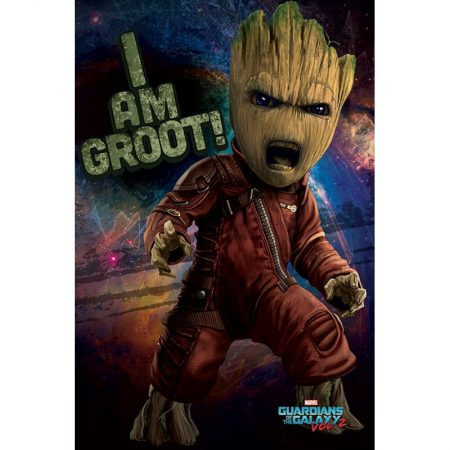 Poster Angry Groot