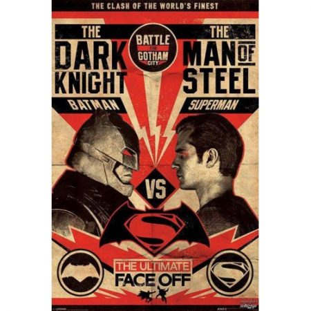 Poster Batman V Superman (Fight Poster)