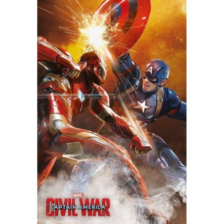 Poster Captain America Civil War Lupta