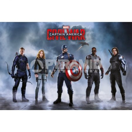 Poster Captain America Civil War Team Captain America