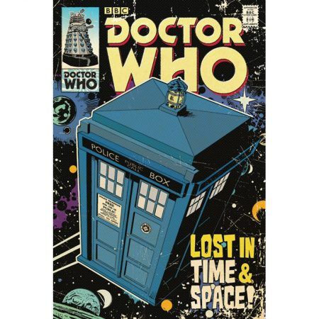 Poster Doctor Who (Lost in Time & Space)
