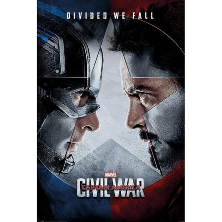 Poster Poster Captain America Civil War Profil
