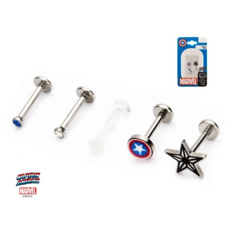 Set Piercing-uri Buza Captain America