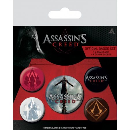 Set insigne Assassin's Creed