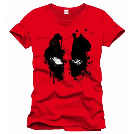 Tricou Deadpool Splash Rosu