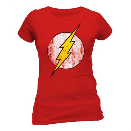 Tricou Fete The Flash Logo
